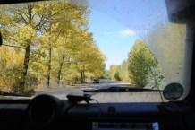 Street near Sevan Lake