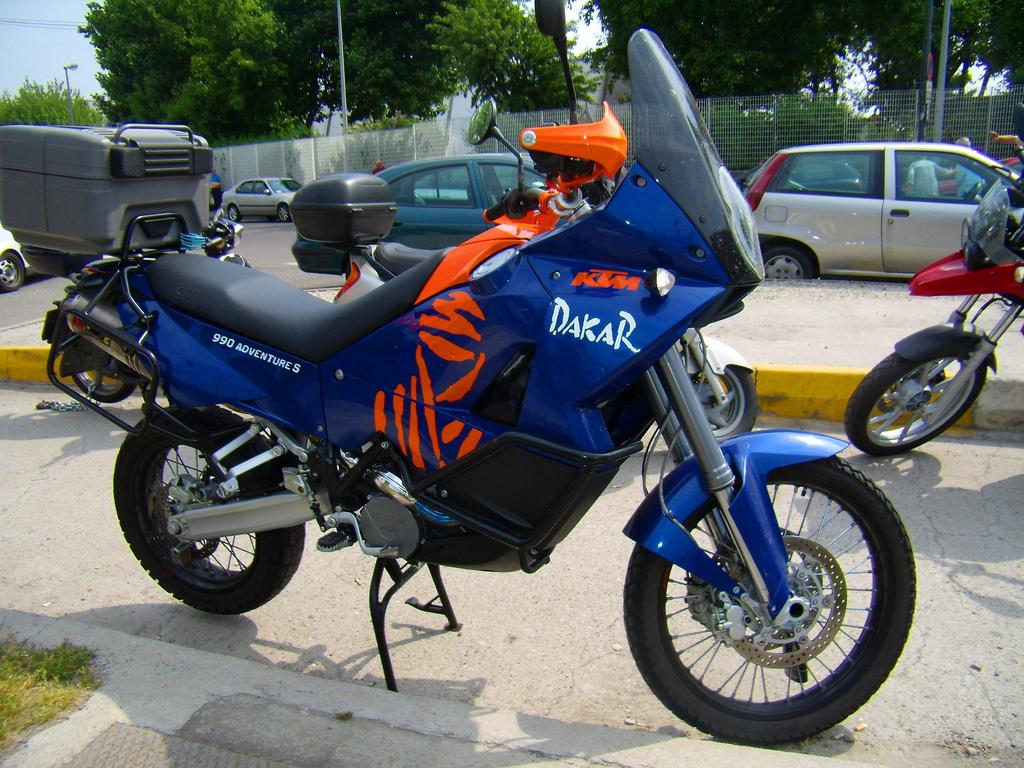 blue dakar
