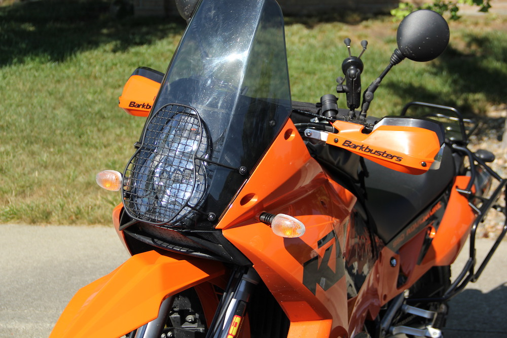 BarkBusters with VPS Hand Guards installed