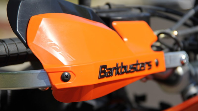 Installing Barkbusters on a KTM 950 Adventure