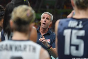 Karch Kiraly coach of USA