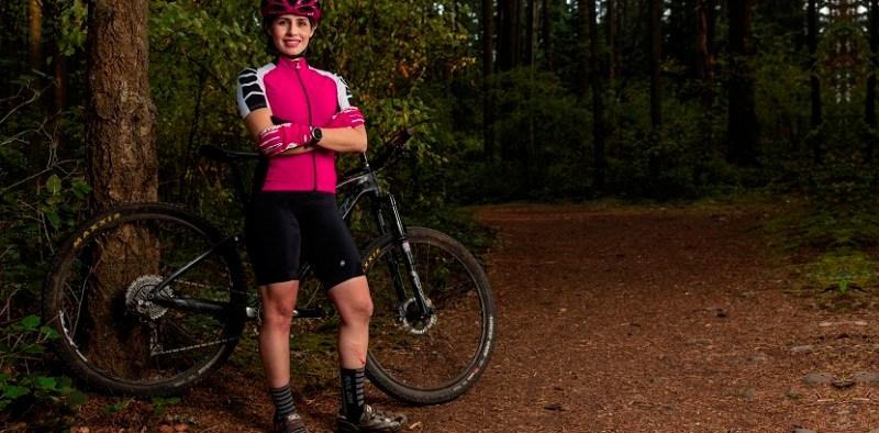 Leydy García ciclista venezolana