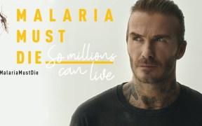 David Beckham-malaria