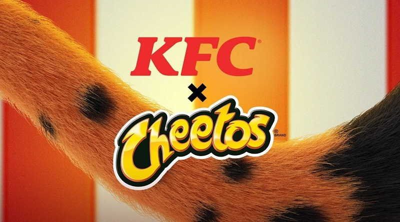 KFC sándwich de pollo cheetos
