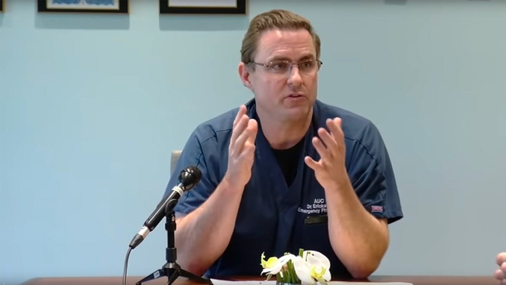 dr. Erickson covid-19 video