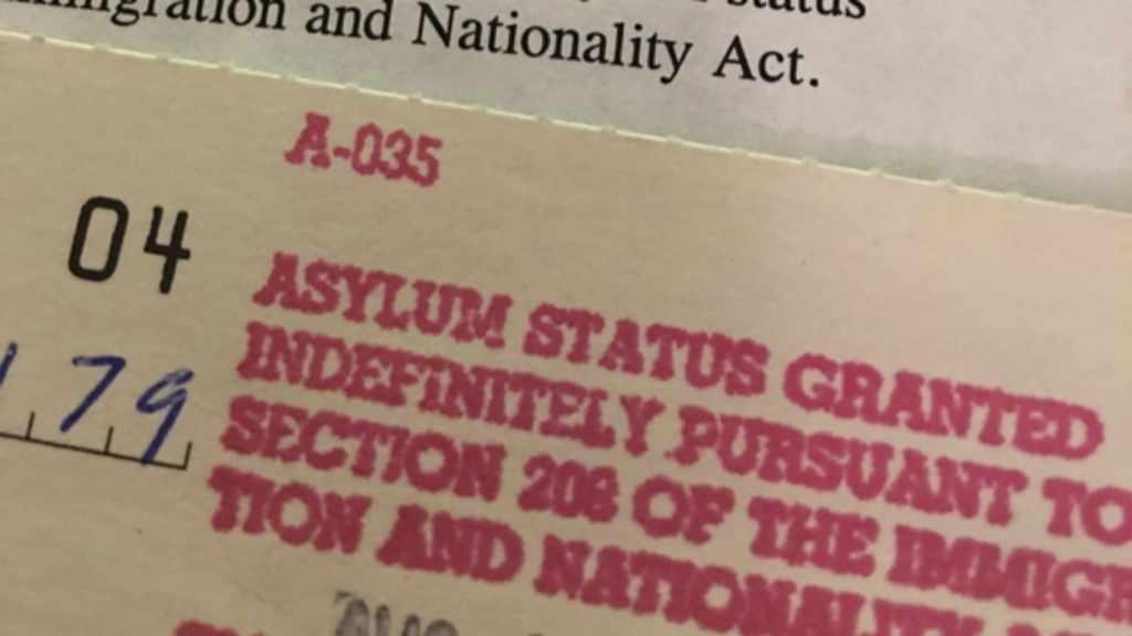 asilo politico en USA