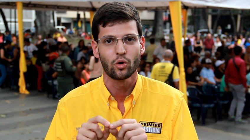 venezolanos con biden