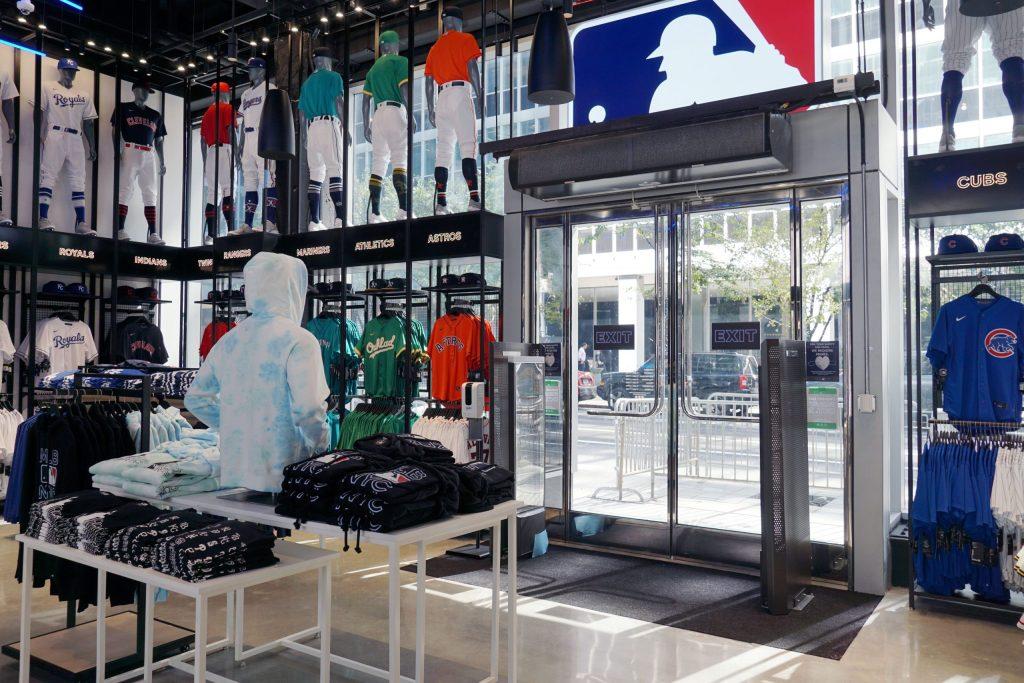 tienda MLB de Nueva York