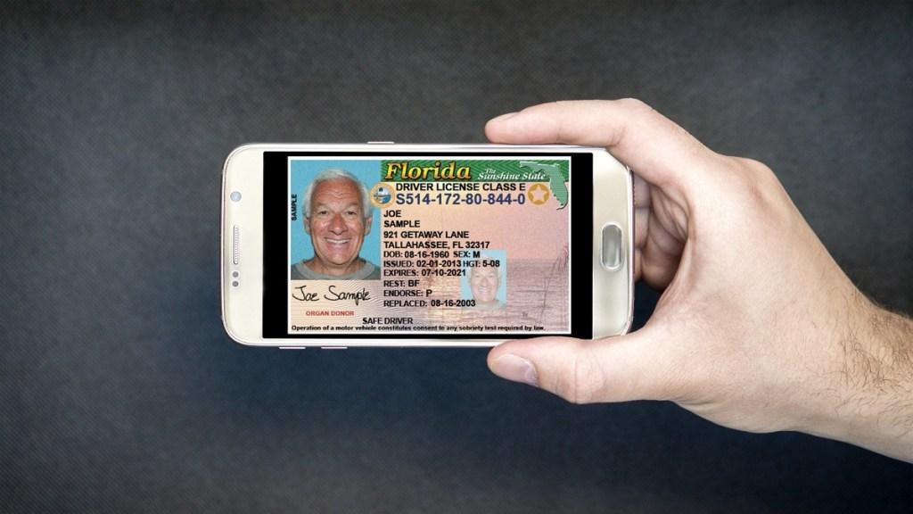 licencia de conducir digital florida