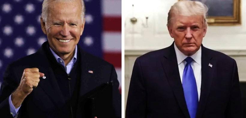 TikTok Biden vs Trump