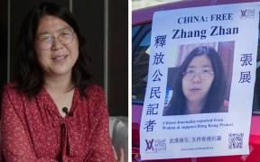 periodista Zhang Zhan