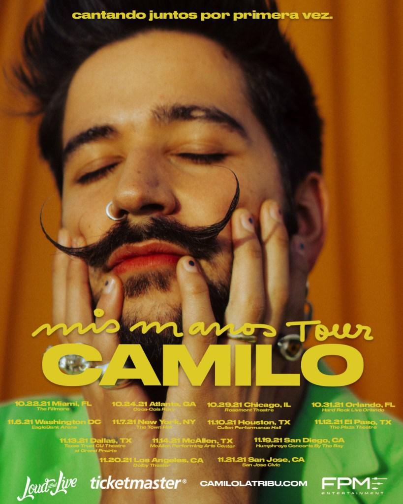 tour 2021 Camilo Estados Unidos