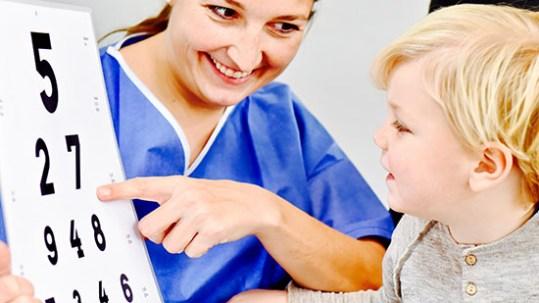 Kinderaugenheilkunde