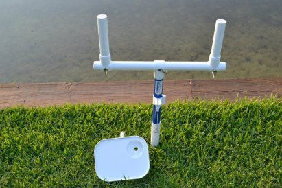 Fishing Rod Holder with Table