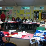 Textiles and Quilting Group with Group Leader Eileen Evans