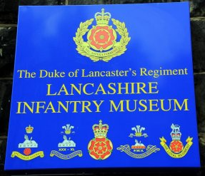 The Lancashire Infantry Museum at Fulwood Barracks