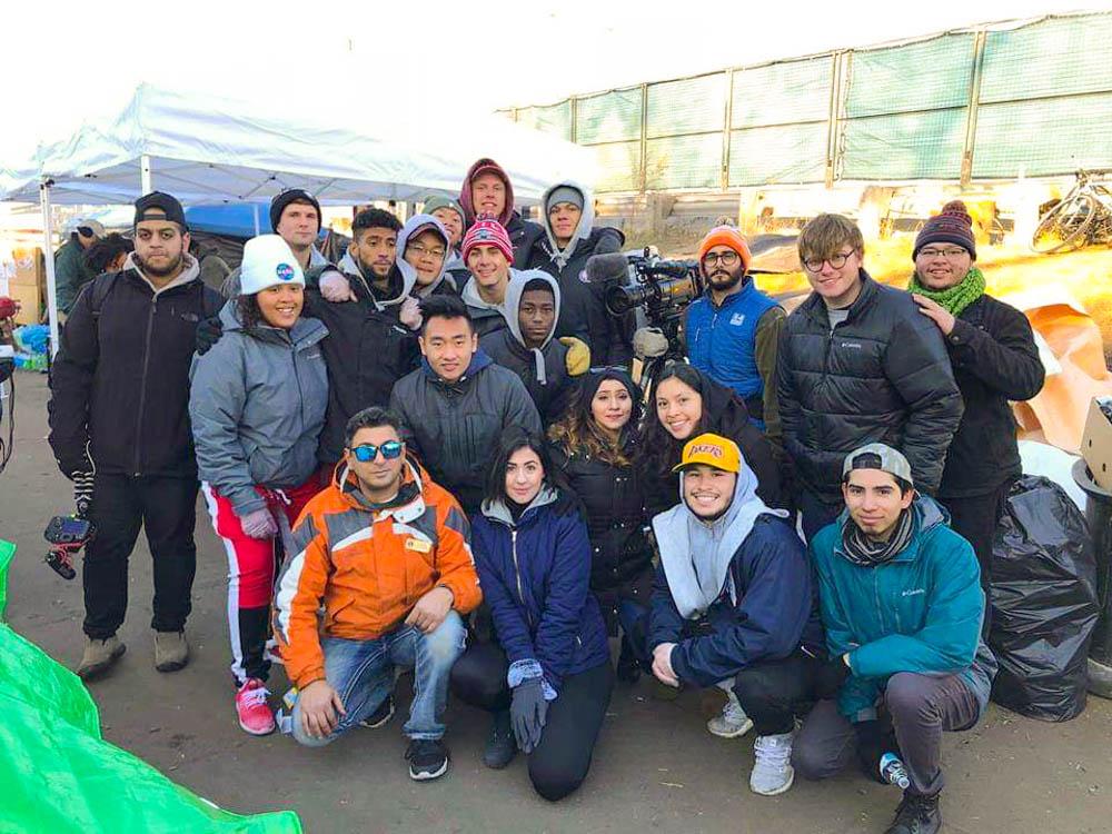 Hiawatha homeless camp prepares for winter