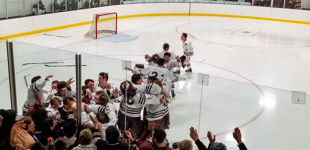 Men's hockey makes national tournament following 4OT victory