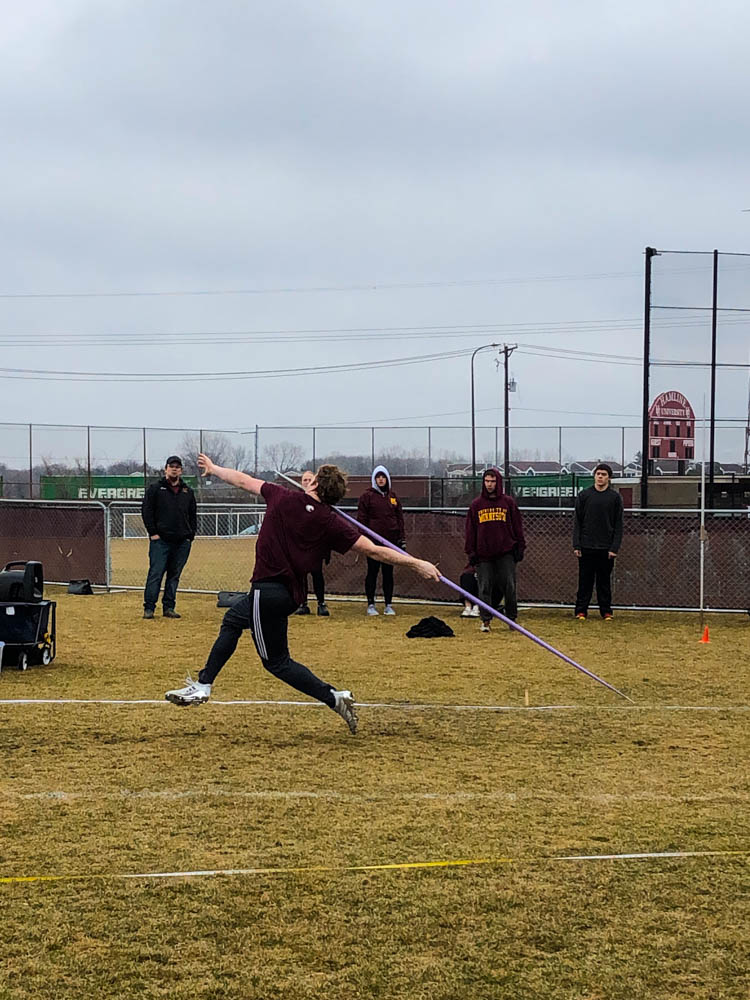 Auggie track posts solid performances in opening meets