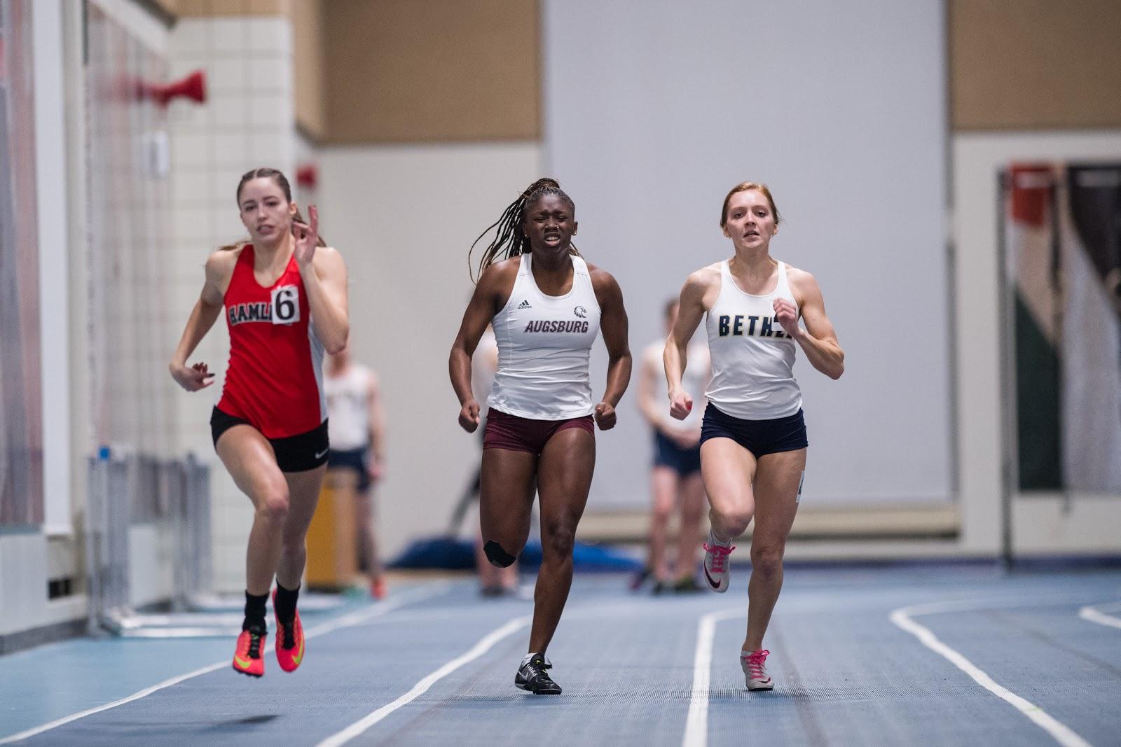 Auggie Sprinter Breaks 60M School Record