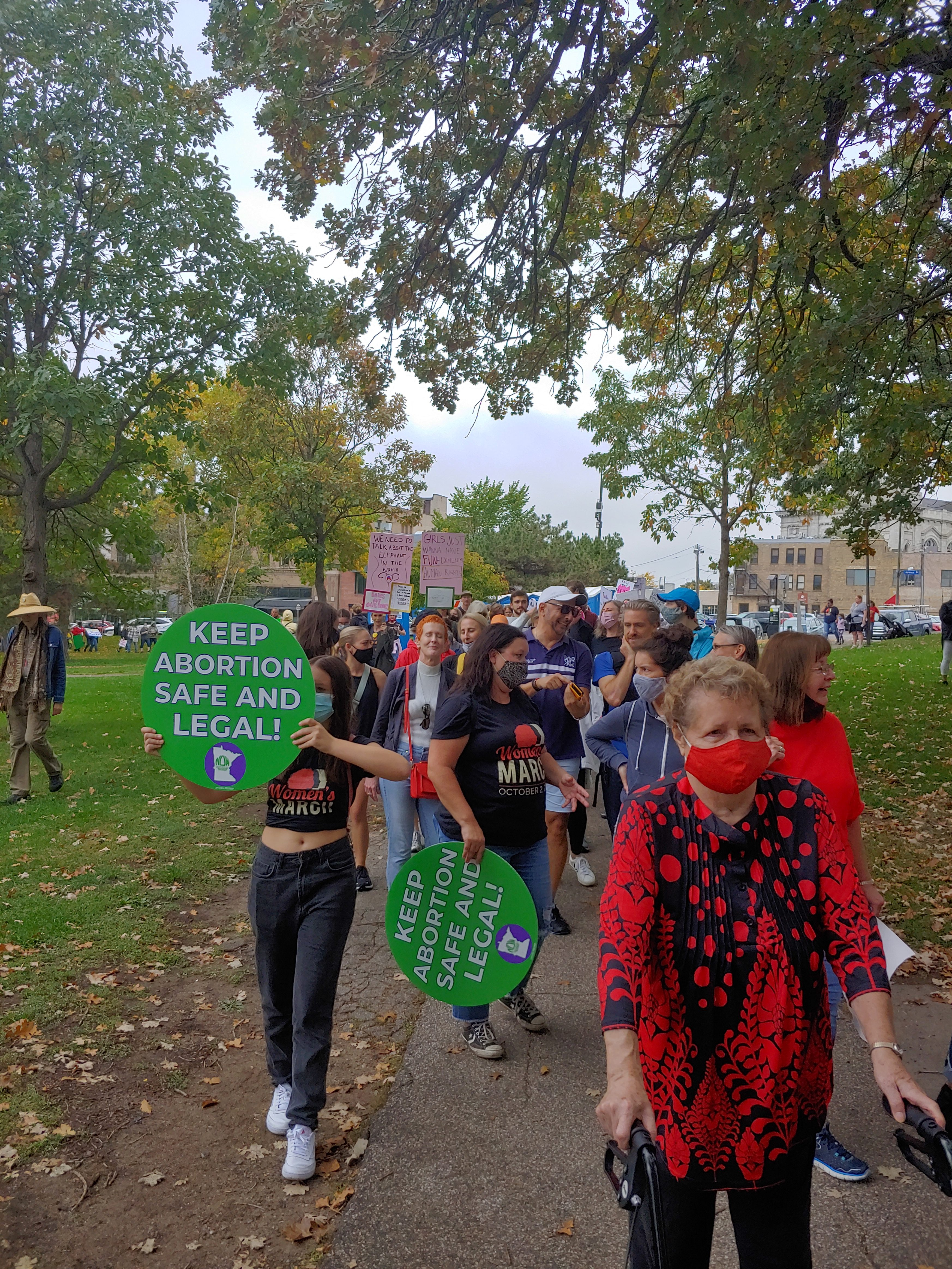 Fight for Reproductive Rights Marches On