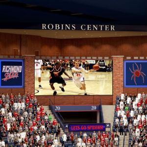 Robins-Center_Video Board