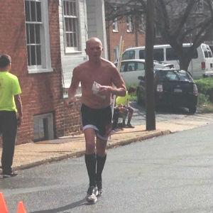 chris graham charlottesville marathon