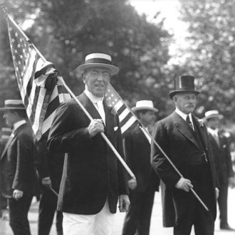 woodrow wilson flag day
