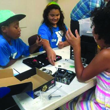 waynesboro ymca childcare computers