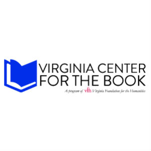 Virginia Center for the Book logo with VFH tagline