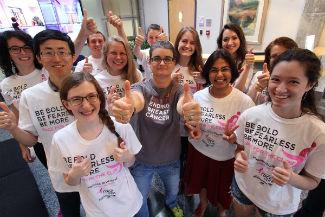 virginia tech breast cancer campaign