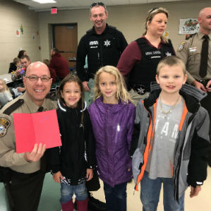 Donuts with a Deputy