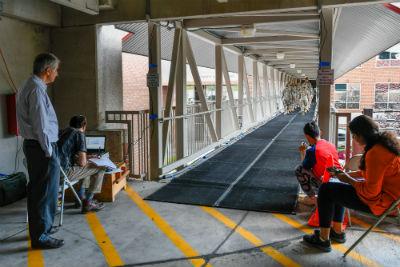 pedestrian footbridge