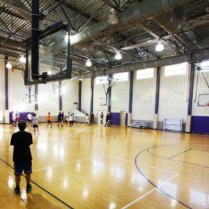 Simms Center gym