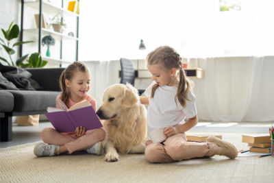 pets dog children