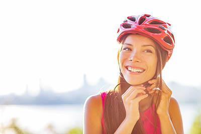 cyclist helmet bike health