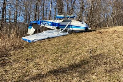 plane crash frederick county