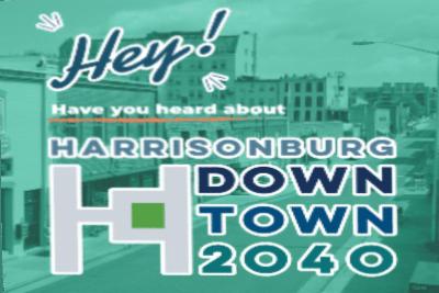Harrisonburg Downtown 2040