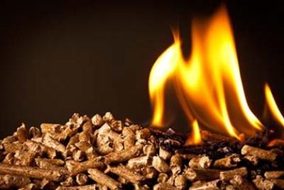 wood pellets stove