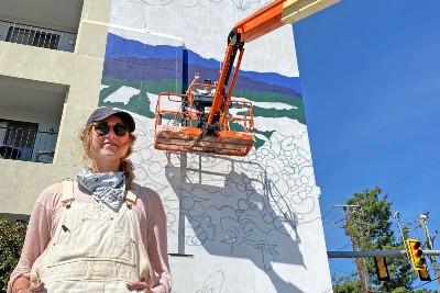Emmy Thacker Crozet Mural