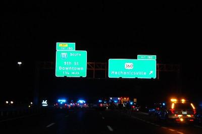 pedestrian death interstate 64 henrico county