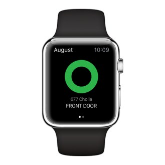 August Apple Watch Unlock