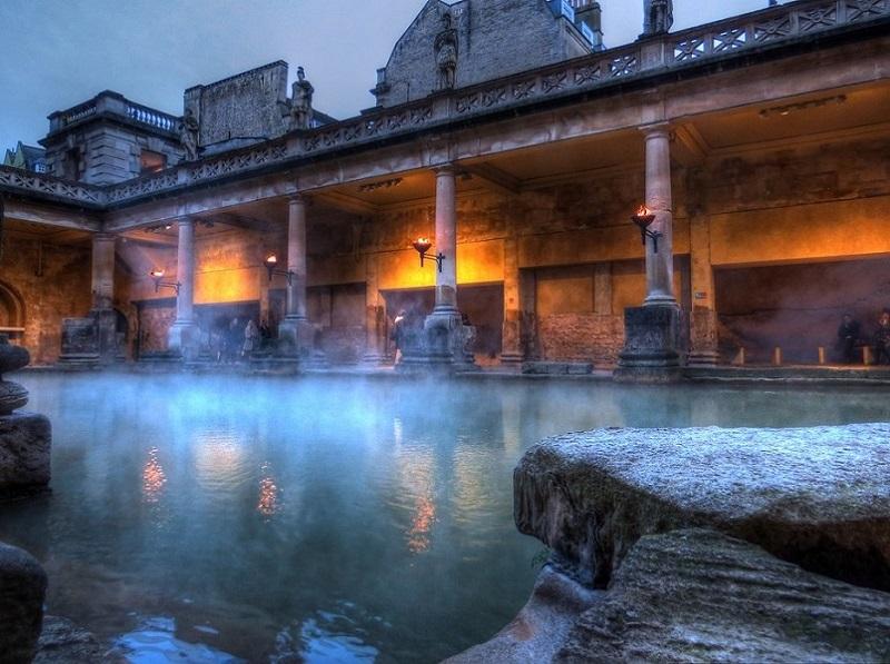 倫敦旅遊必去景點–巴斯-Bath 羅馬浴場