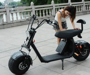 Awesome Fat Tire Electric Scooters. Fun, Fun, Fun