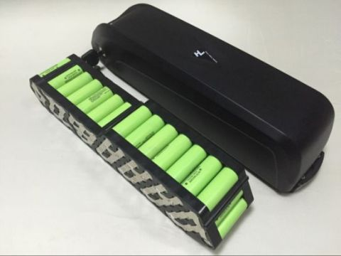 Lithium ion batteries must be specifically designed due to the presence of a battery management system (BMS) within the pack.