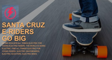 GO BIG 2018-2019 All things electric for young electric riders. the world is going electric. Find all things electric for young riders. Electric Skateboards, Electric Scooters, Electric Bikes.