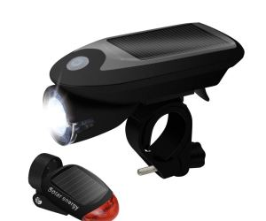 Solar-Charging Headlight and Taillight with 3 Modes