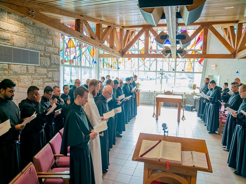 Praying with the Augustinians