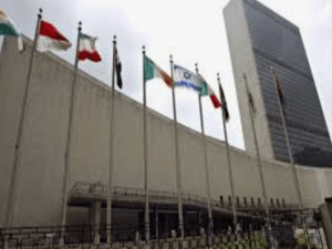 What is Augustinian ministry at the United Nations?
