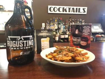 Chili Cheese Fries is currently a secret menu item at Augustino Brewing
